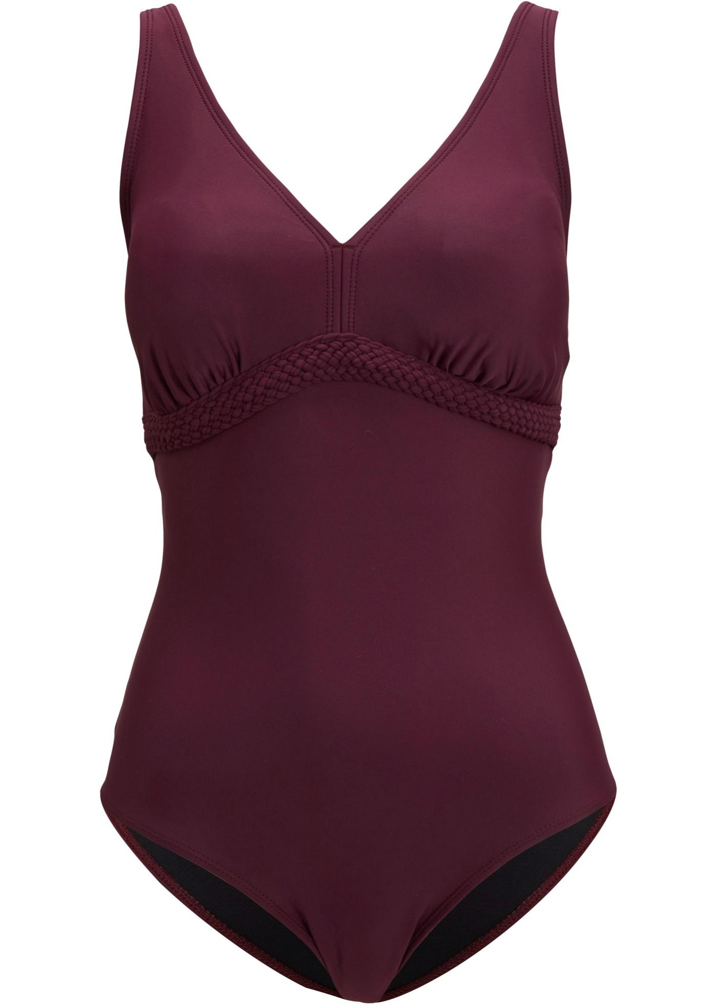 Shape Badeanzug Level 1 in lila für Damen von bonprix