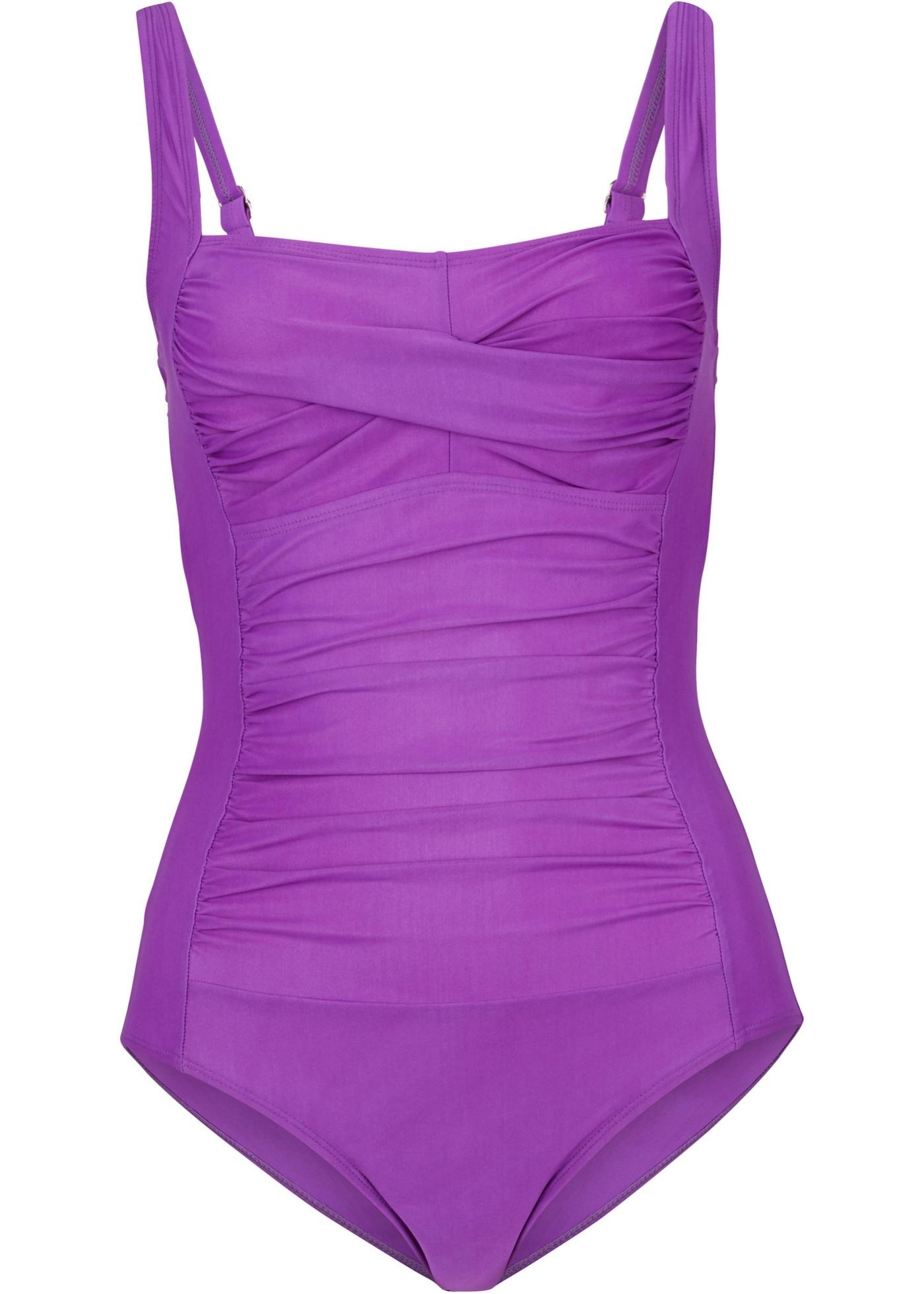 Shape Badeanzug Level 3 in lila für Damen von bonprix