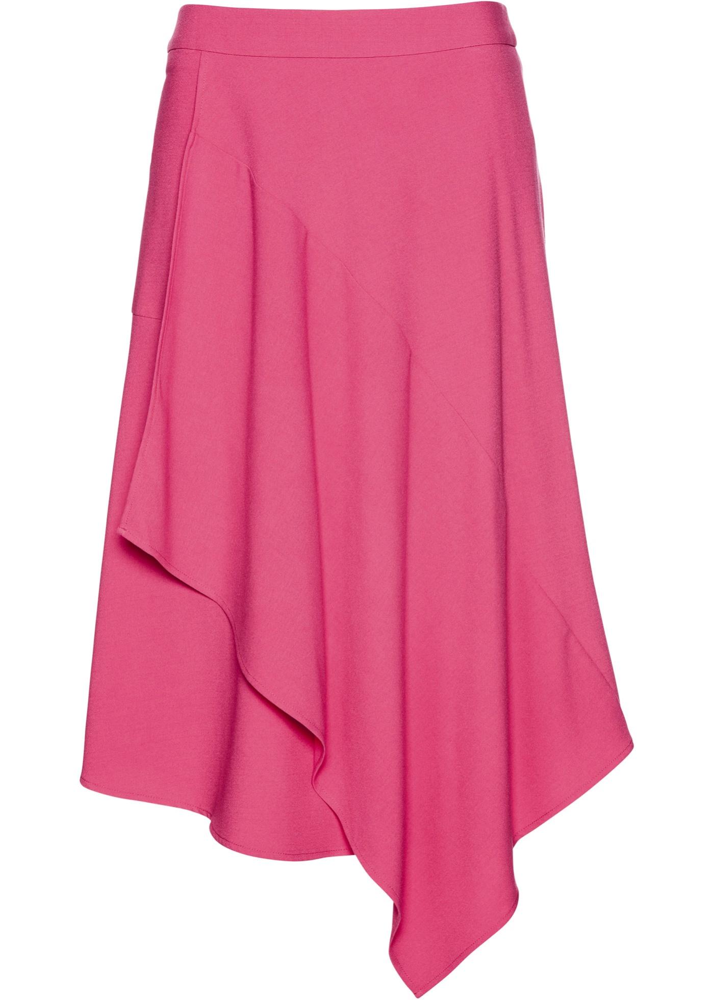Wickelrock in pink für Damen von bonprix