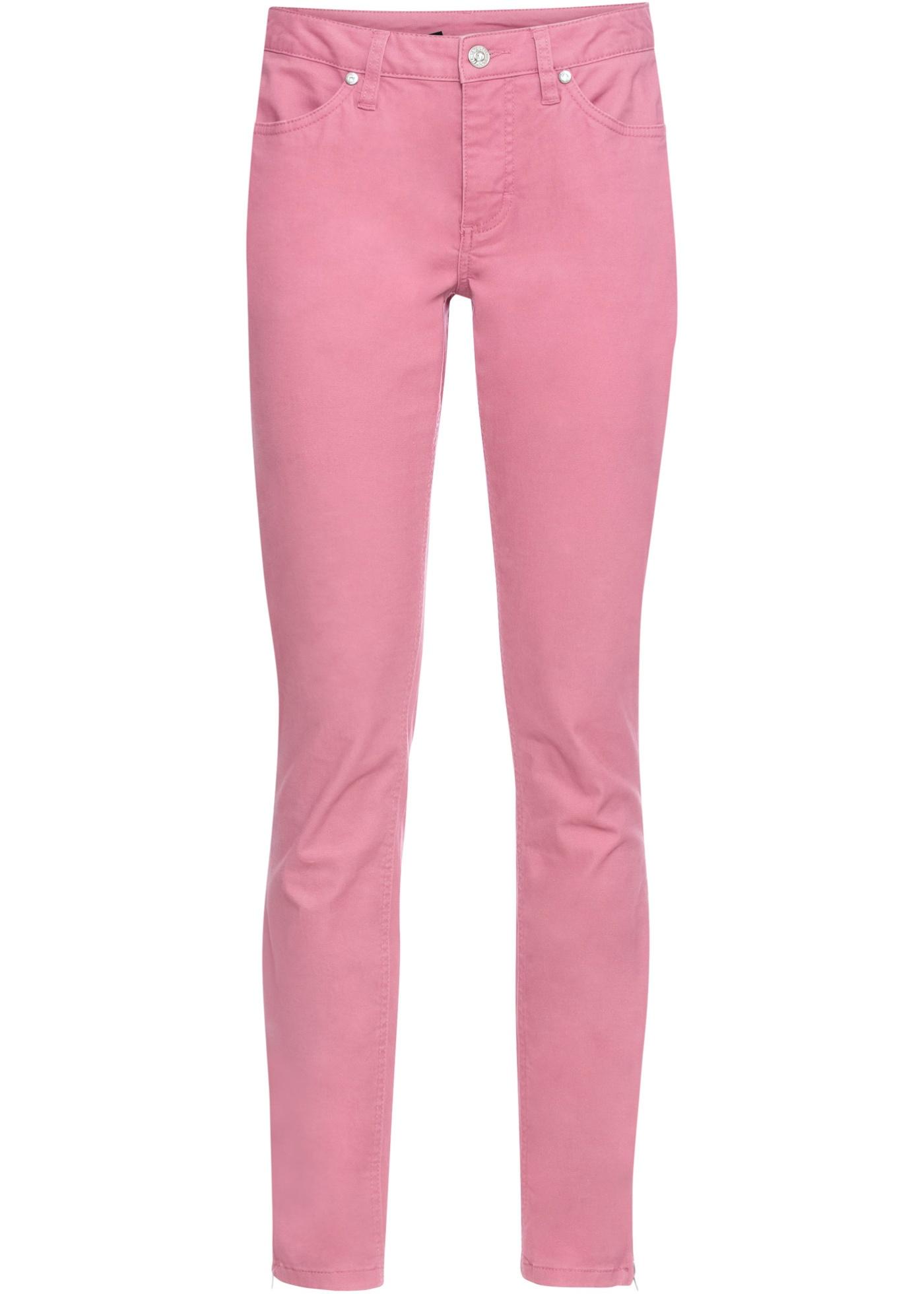 Stretchhose in lila für Damen von bonprix