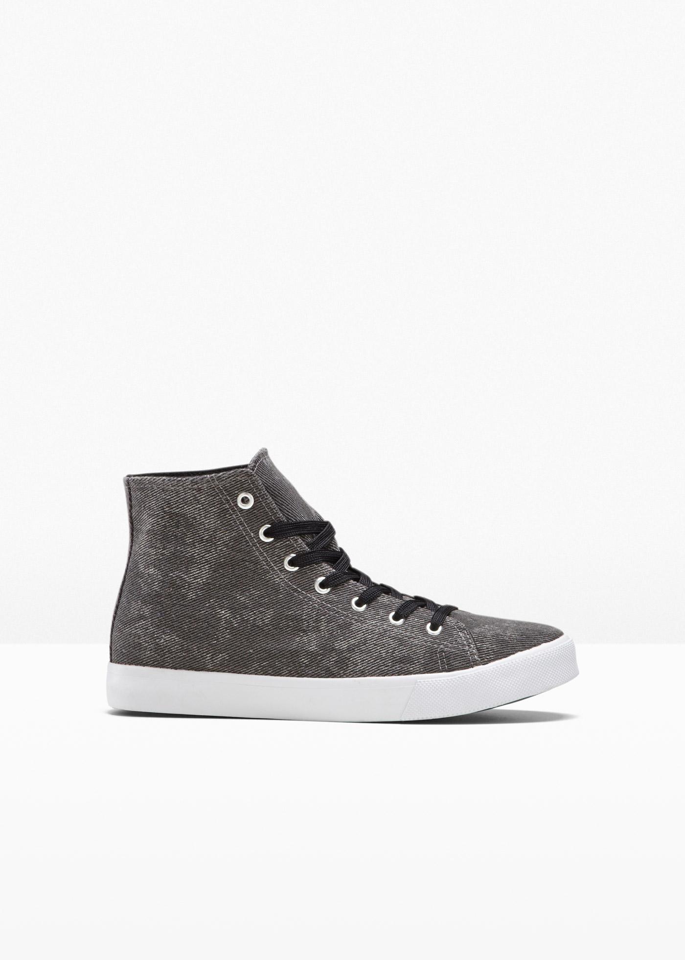 Sneaker in schwarz für Herren von bonprix