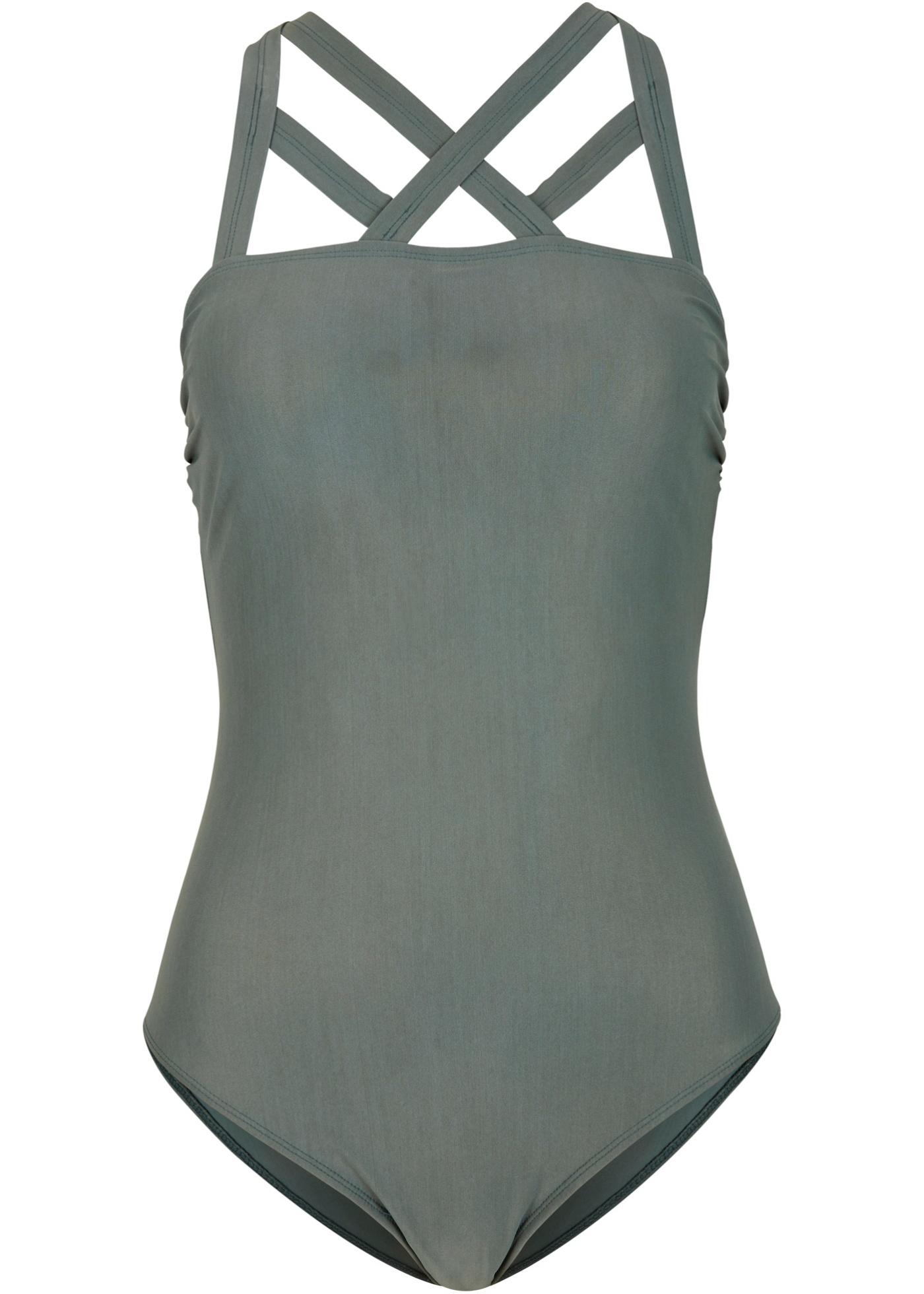 Shape Badeanzug Level 1 in grün für Damen von bonprix