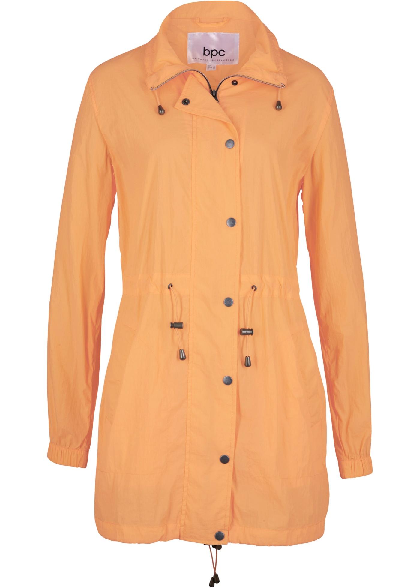 Leichte Jacke, ungefüttert langarm  in orange für Damen von bonprix