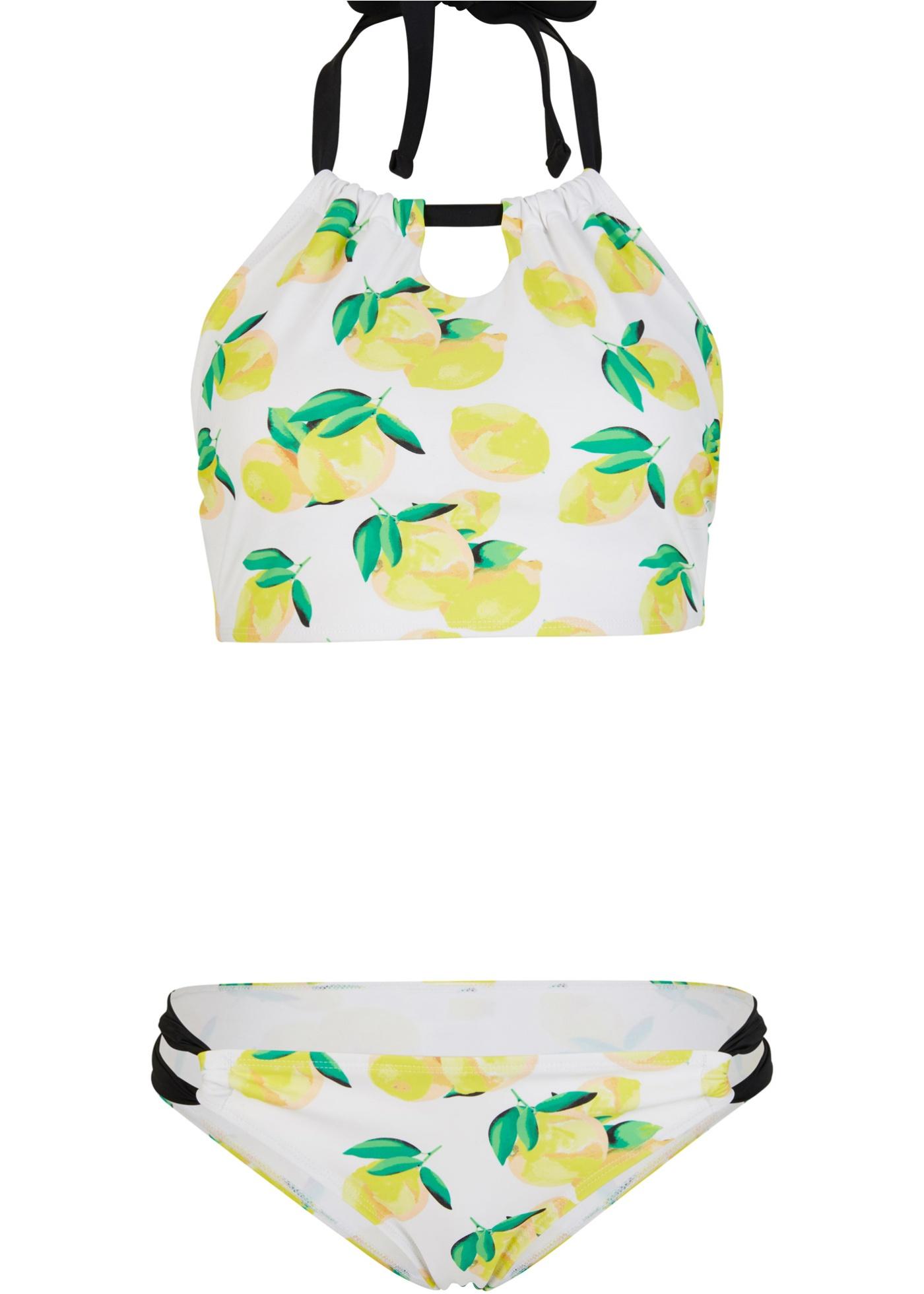 Bustier Bikini (2-tlg. Set) in gelb für Damen von bonprix