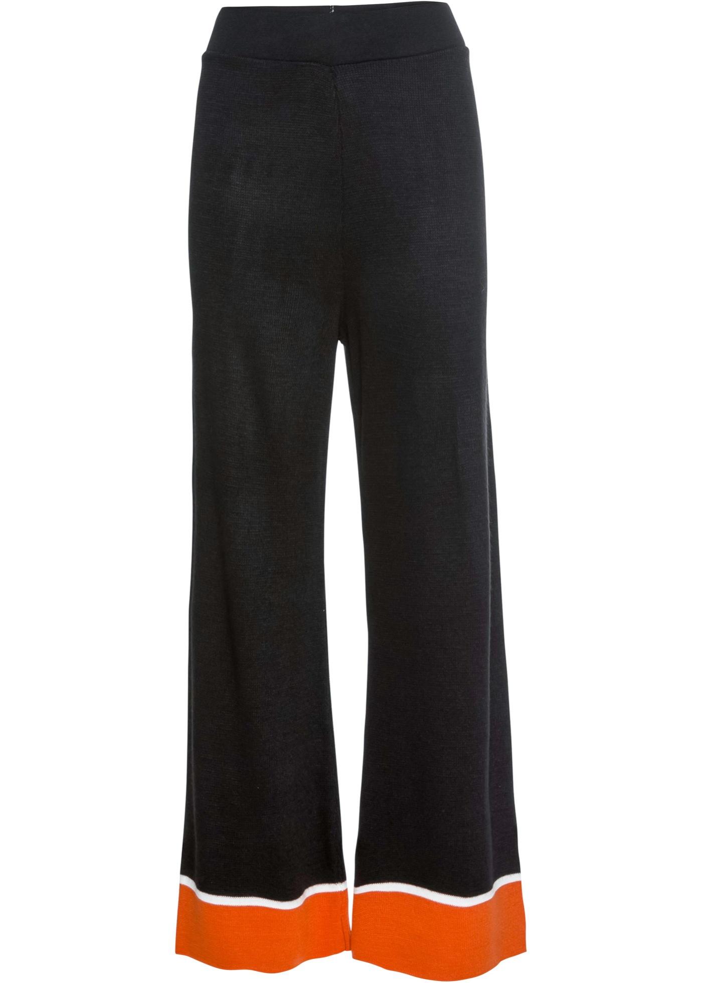 Strickhose in schwarz für Damen von bonprix