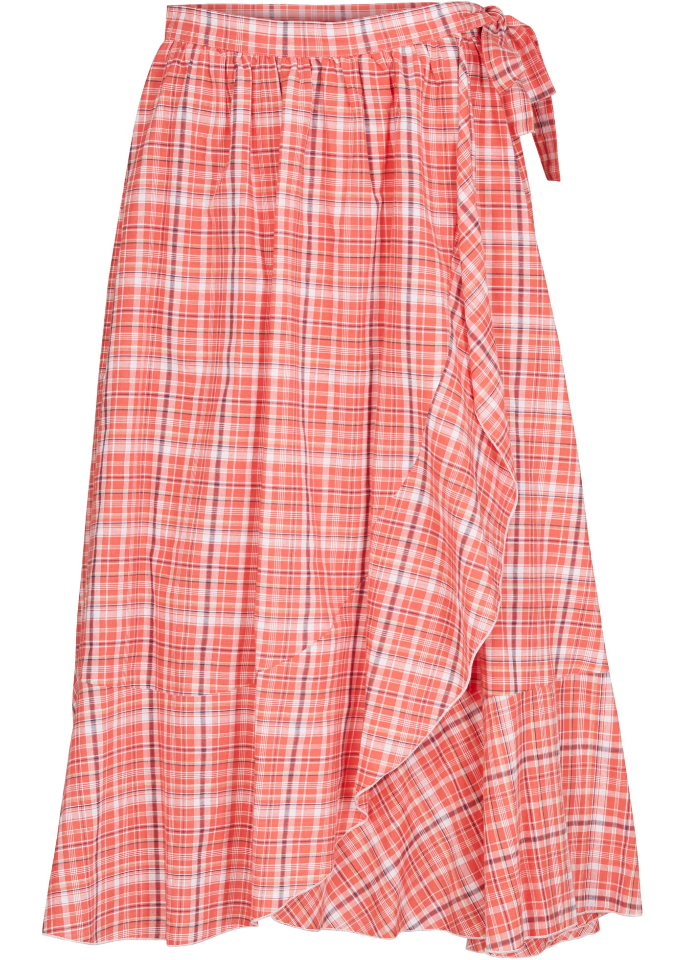 Maite Kelly Wickel- Rock in rot für Damen von bonprix