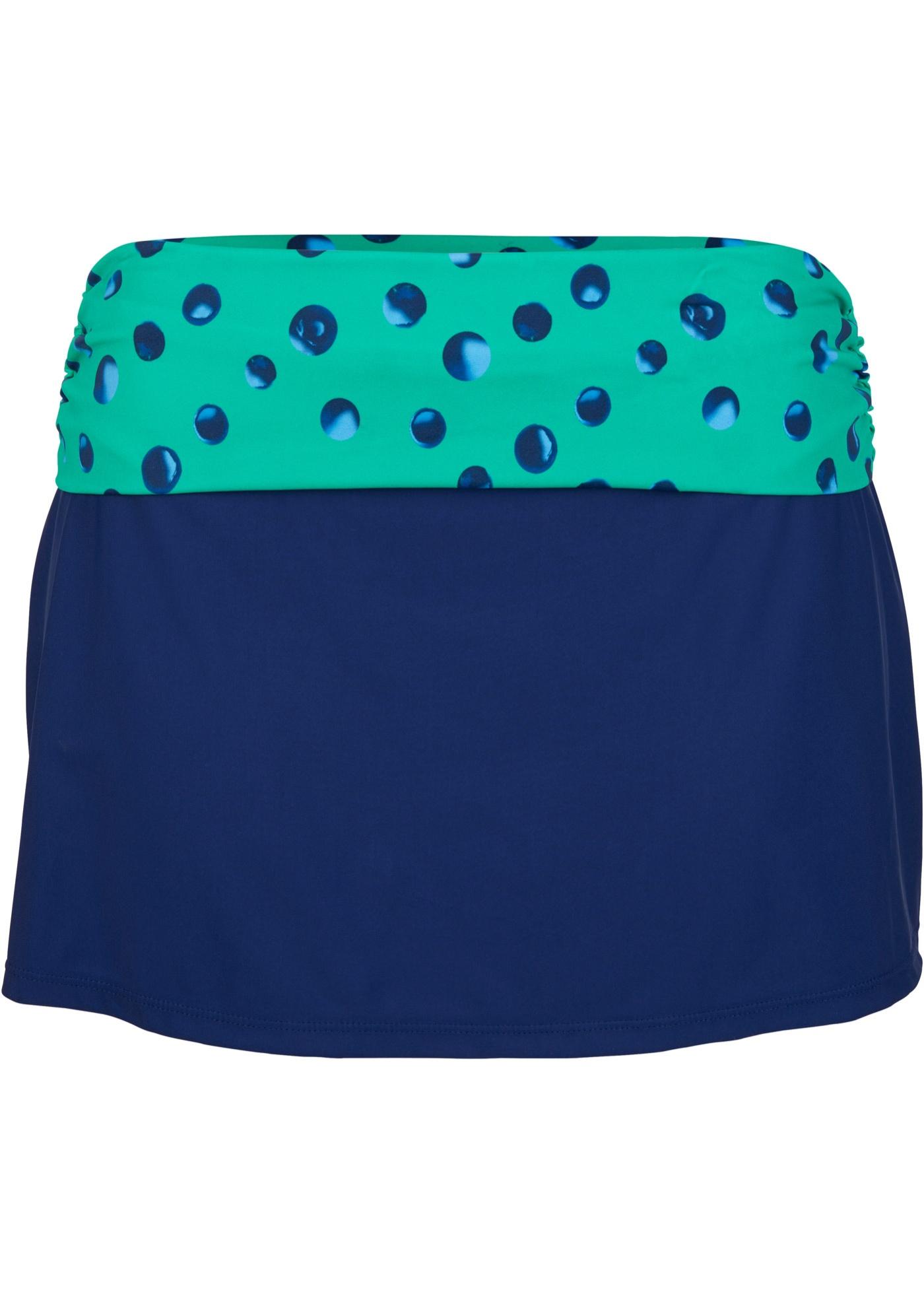 Baderock mit Innenslip in blau für Damen von bonprix