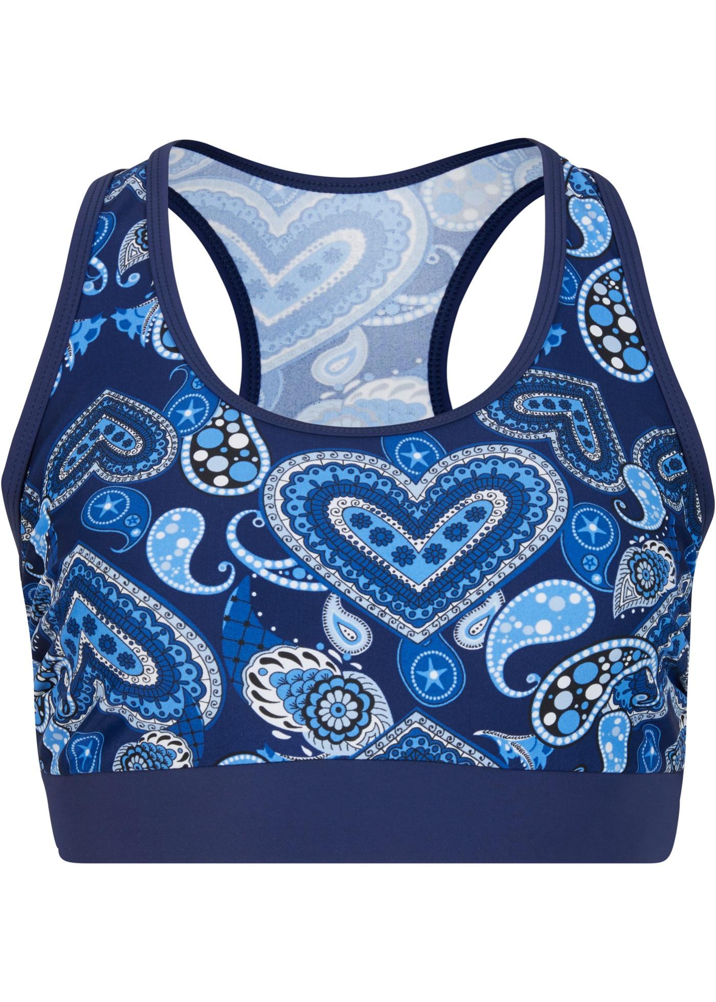 Bademode - Bustier Bikini Oberteil › bonprix › blau  - Onlineshop Bonprix
