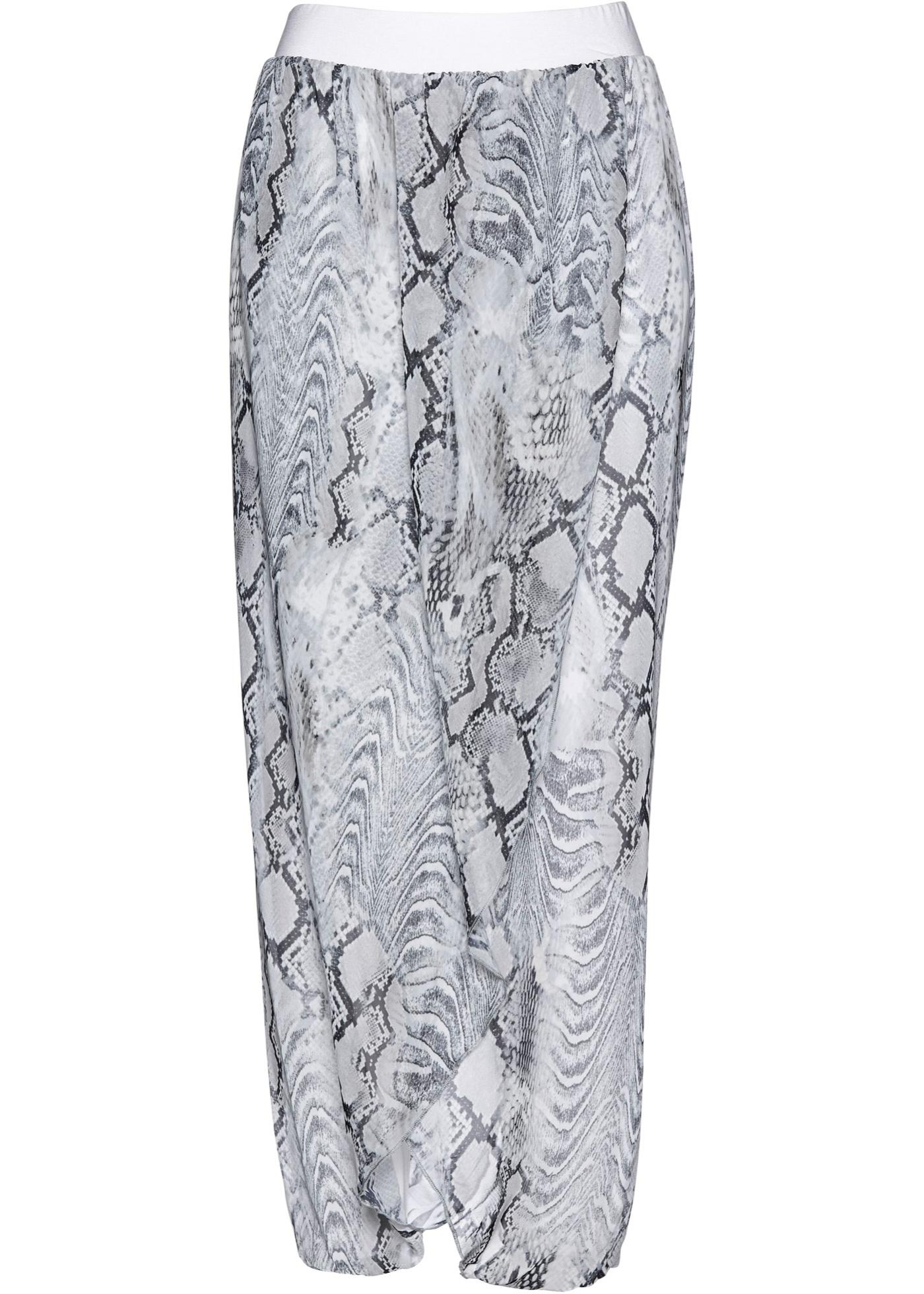 Premium Hose mit Chiffon in weiß für Damen von bonprix