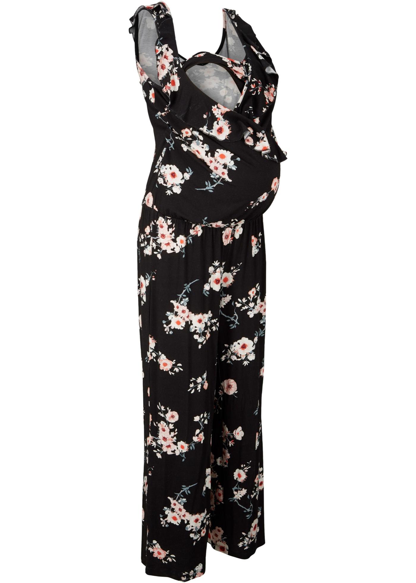 Schwangerschaftsmode - Jersey Umstands Jumpsuit Jersey Still Jumpsuit › bonprix › schwarz  - Onlineshop Bonprix