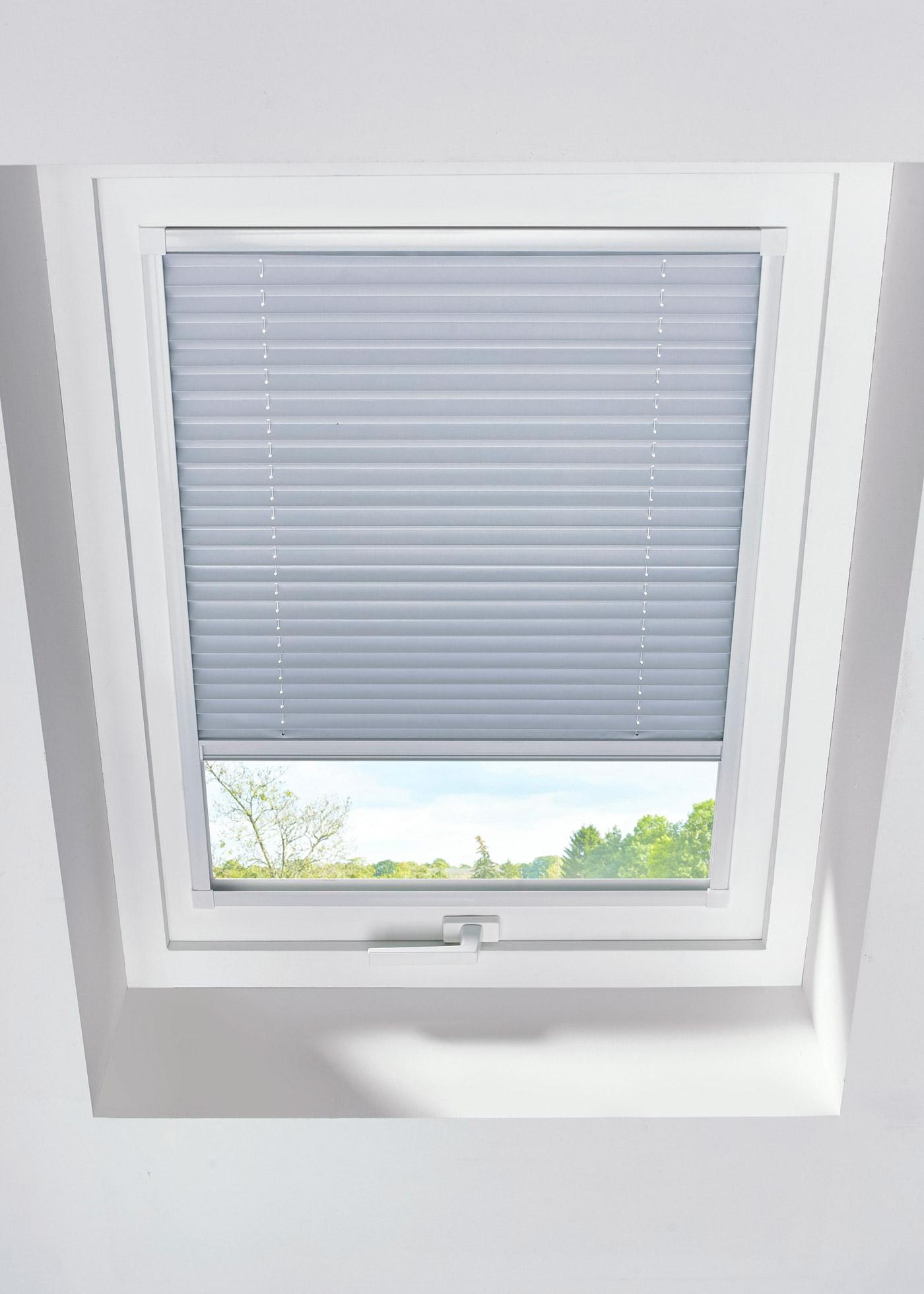 Dachfenster-Wabenplissee-Verdunkelung in braun von bonprix