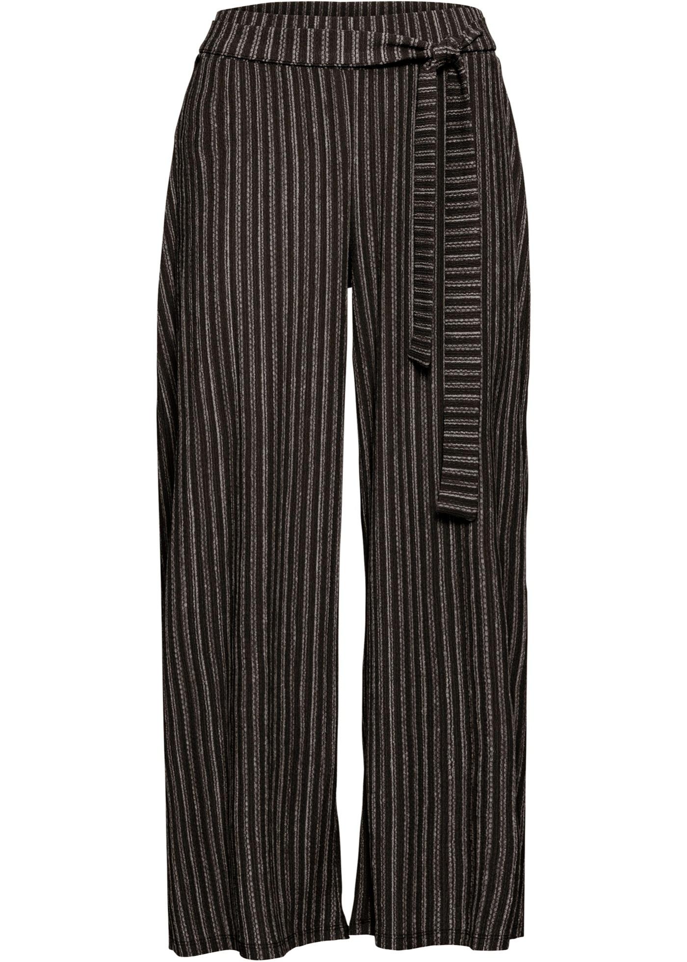 Jersey-Culotte in schwarz für Damen von bonprix