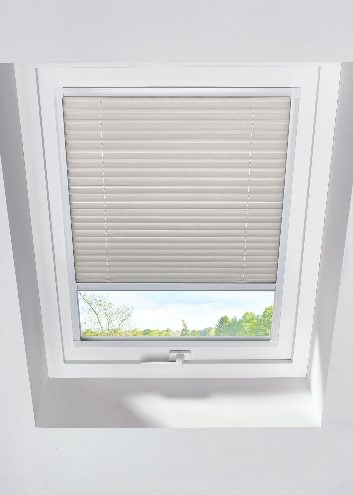 Dachfenster-Wabenplissee-Verdunkelung in beige von bonprix