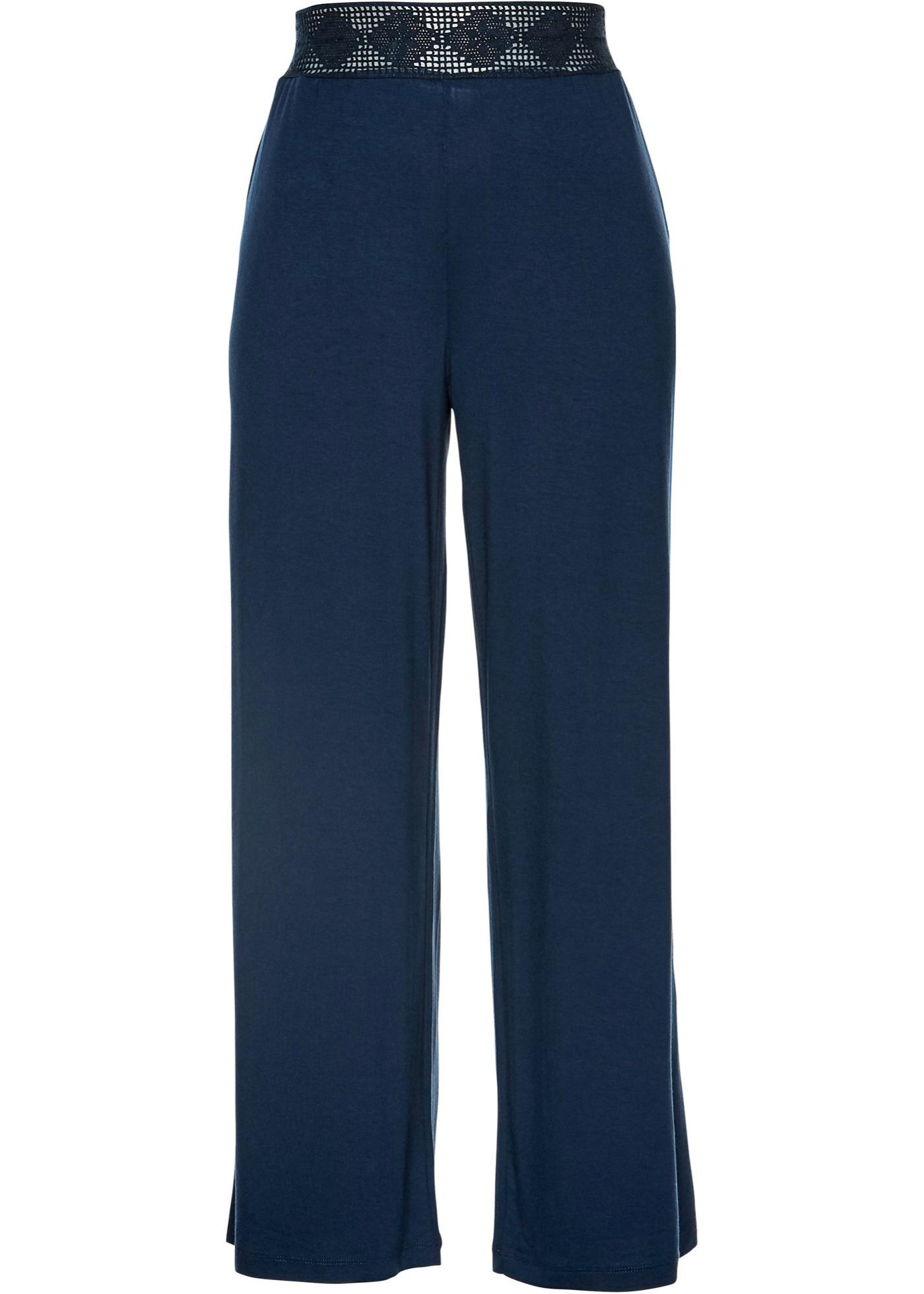Jersey-Hose in blau für Damen von bonprix
