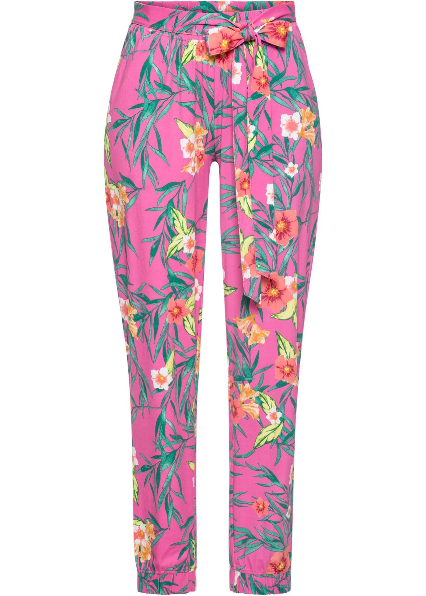Jersey-Hose in pink für Damen von bonprix
