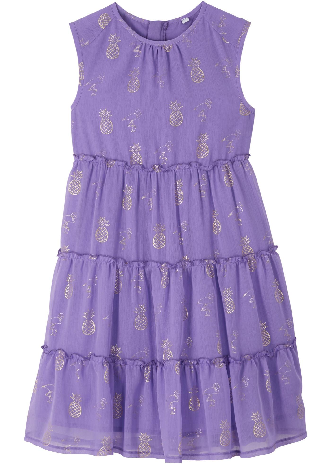 Mädchen Sommerkleid in lila für Mädchen von bonprix