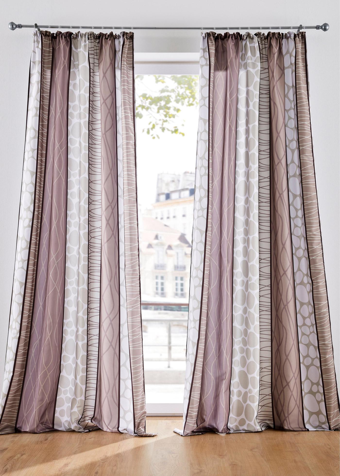 Vorhang (1er Pack) in braun von bonprix