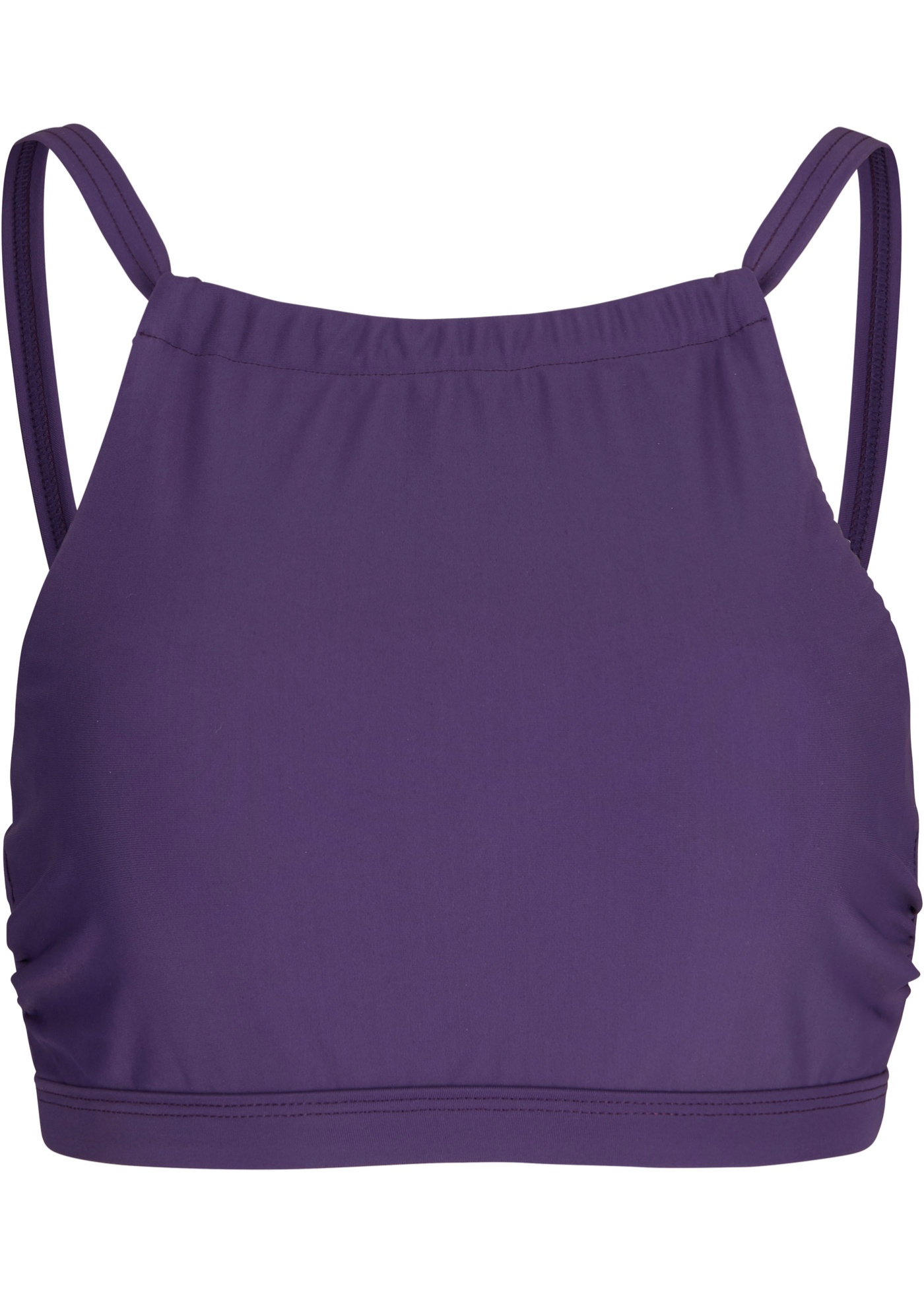 Bustier Bikini Oberteil schnelltrocknend in lila für Damen von bonprix