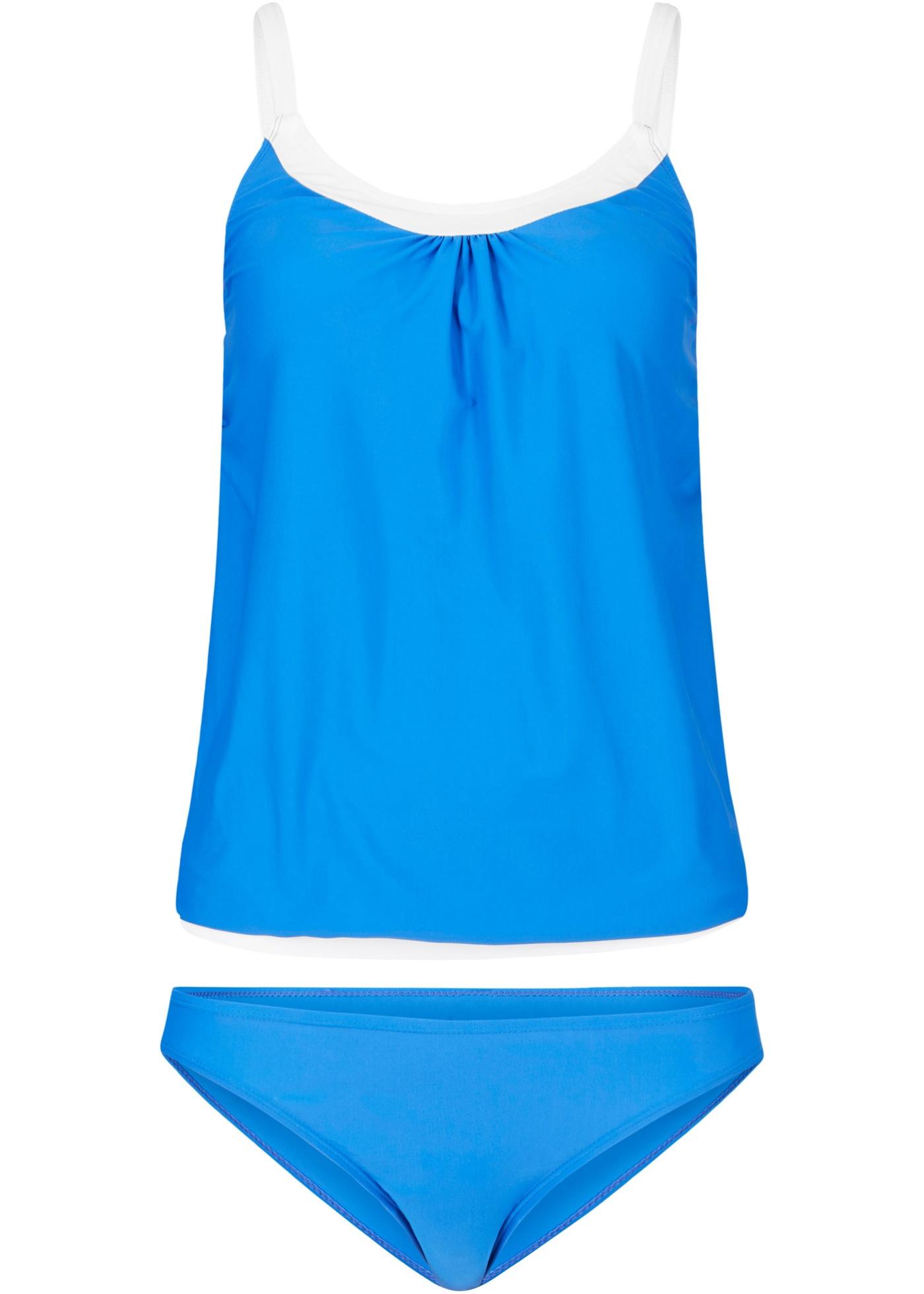 Tankini in blau für Damen von bonprix