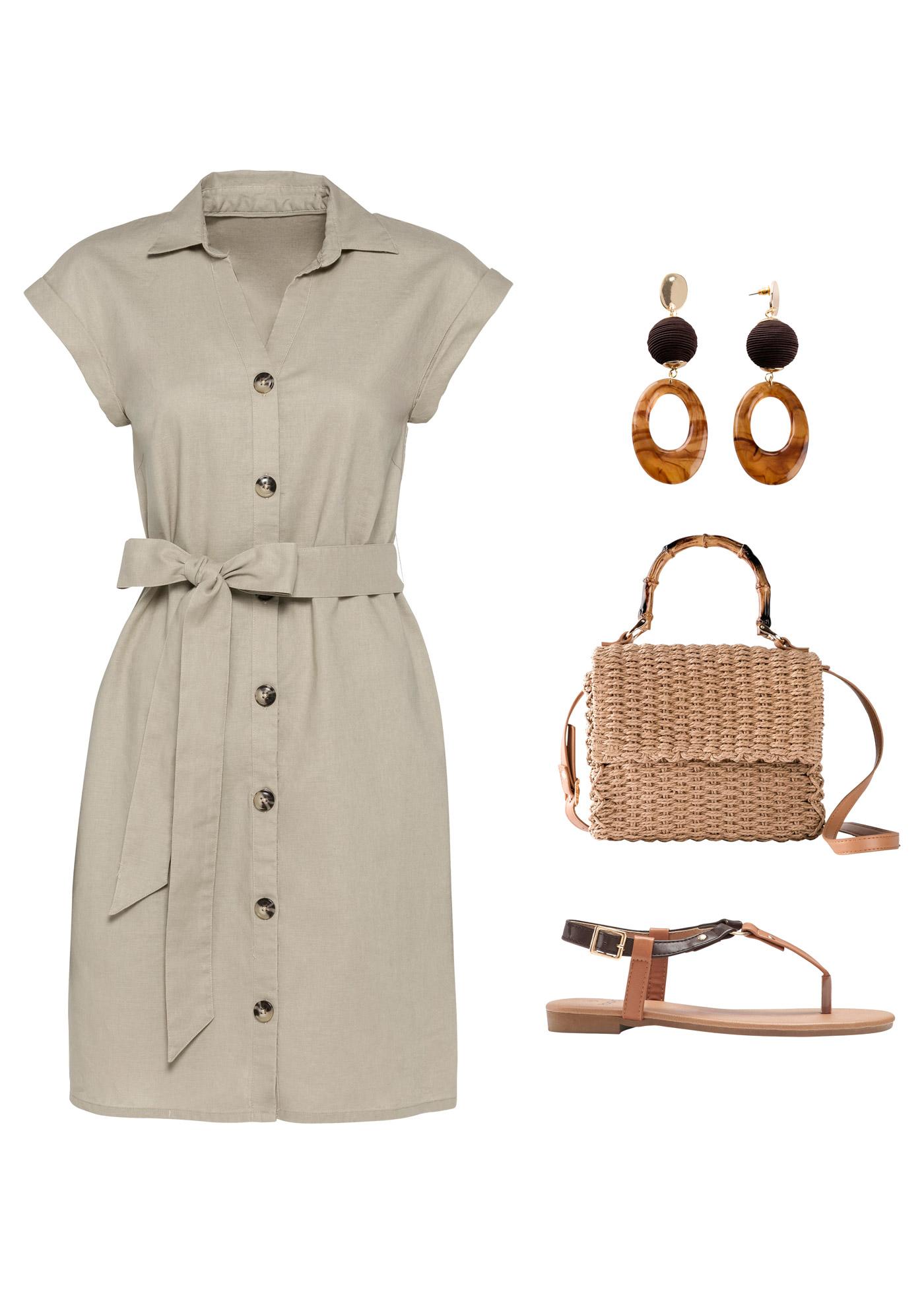 Leinen-Kleid, BODYFLIRT