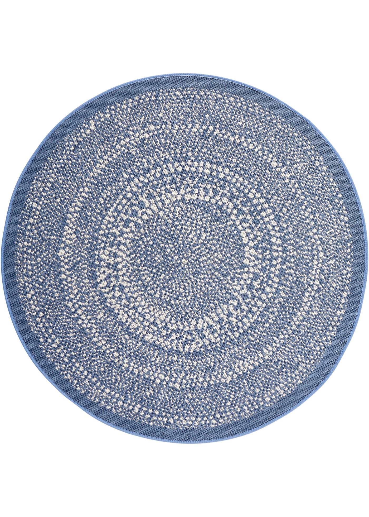 Runder In- und Outdoor Teppich in lila von bonprix