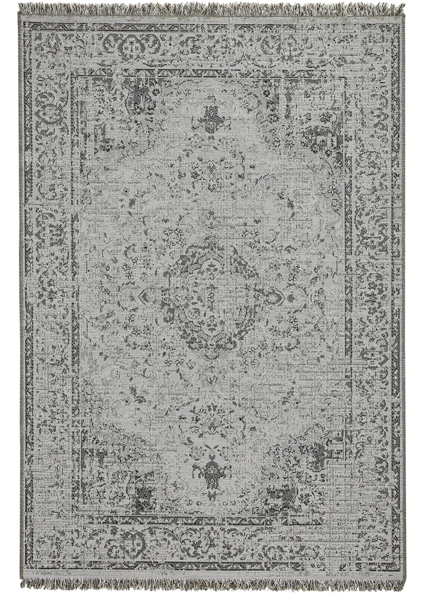 In- und Outdoor Teppich mit Orientmusterung