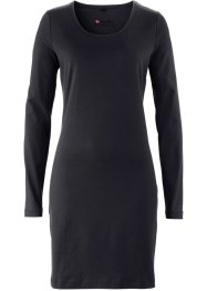 Basic Baumwollkleid Stretch-Jersey, bpc bonprix collection