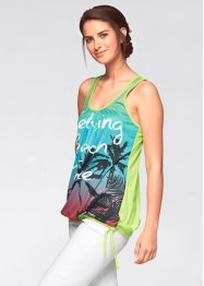 Top, bpc bonprix collection, aqua
