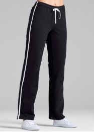 Jogginghose, lang, bpc bonprix collection, schwarz