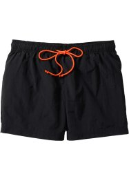 Strand-Shorts, bpc bonprix collection, schwarz