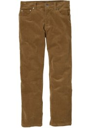 Stretch-Cordhose Regular Fit Straight, bpc selection, cognac