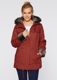 Winterjacke, bpc bonprix collection, ziegelrot
