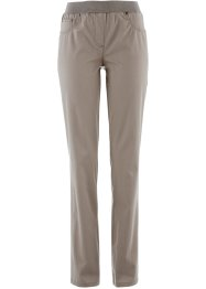 Schlupfhose, bpc bonprix collection, taupe