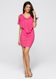 Kleid, BODYFLIRT boutique, dunkelpink