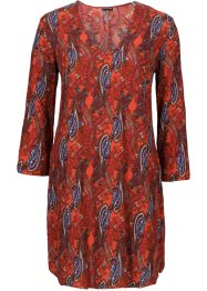 MUST HAVE: Kleid, BODYFLIRT, orange paisley