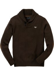 Pullover Regular Fit, bpc selection, dunkelbraun