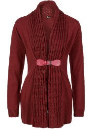 Strickjacke, BODYFLIRT boutique, Pomegranate