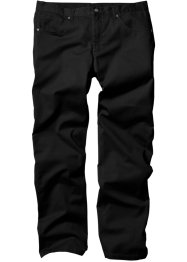 5-Pocket Hose Regular Fit Straight, bpc bonprix collection, schwarz
