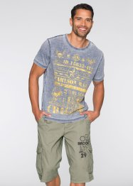 T-Shirt Slim Fit, RAINBOW, blau