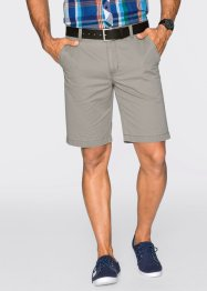 Chino-Shorts Regular Fit Straight, bpc bonprix collection, oliv