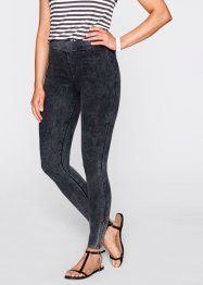 Shirt-Leggings - designt von Maite Kelly, bpc bonprix collection, schiefergrau