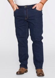 Stretch-Jeans Classic Fit Straight, John Baner JEANSWEAR, dunkelblau