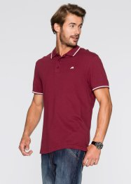 Poloshirt, Regular Fit, bpc bonprix collection, bordeaux