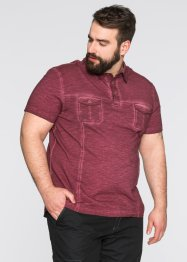 Poloshirt Regular Fit, bpc bonprix collection, ahornrot