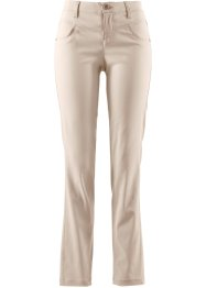 "Stretch-Hose, ""gerade"", bpc bonprix collection, kieselbeige"