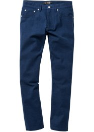 5-Pocket-Hose in Flanelloptik Regular Fit, bpc selection, dunkelblau meliert