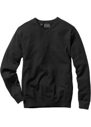 V-Pullover Regular Fit, bpc selection, schwarz