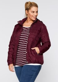 Wattierte Steppjacke, bpc bonprix collection, schwarz
