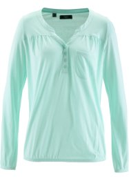 Langärmlige Shirtbluse, bpc bonprix collection, hellmint