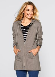 Shirt-Parka-Jacke, bpc bonprix collection, taupe